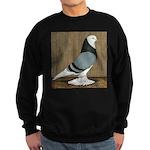 Blue Bald West Sweatshirt (dark)