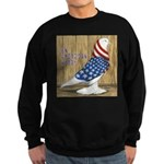 Patriotic Hobby West Sweatshirt (dark)