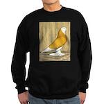 Yellow Bald West Sweatshirt (dark)
