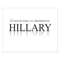 Clinton para el Presidente Posters