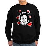I Heart Hillary Sweatshirt (dark)