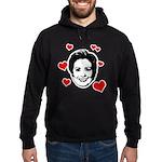 I Heart Hillary Hoodie (dark)