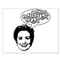 Hillary 2008 for peace Posters