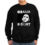 Obama 2008: Obama O eight Sweatshirt (dark)