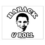 Barack & Roll Small Poster