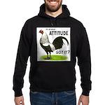 It's About Attitude Hoodie (dark)