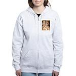 Teager Cap Pigeon Women's Zip Hoodie