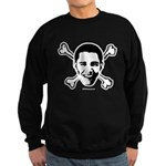 Obama crossbones Sweatshirt (dark)