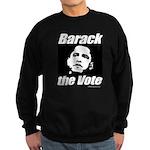 Barack the vote Sweatshirt (dark)