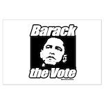 Barack the vote Large Poster