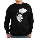 Obama (write in message) Sweatshirt (dark)
