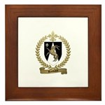 RIMBAULT Family Crest Framed Tile