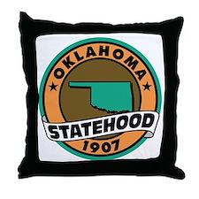State Pride! Throw Pillow