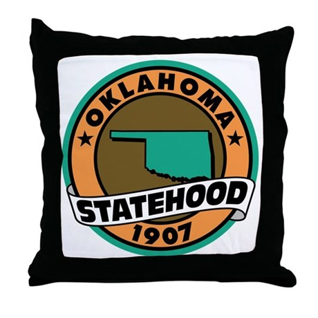 State Pride! Throw Pillow