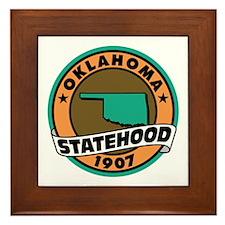State Pride! Framed Tile
