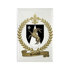 RIMBAULT Family Crest Rectangle Magnet