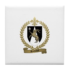 RIMBAULT Family Crest Tile Coaster