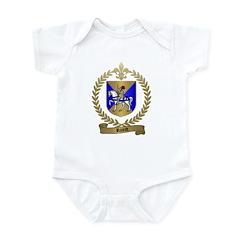 RICORD family Crest Infant Creeper