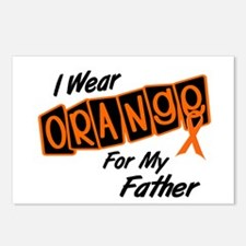 I Wear Orange For My Father 8 Postcards (Package o