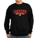 Crentist Dentist Sweatshirt (dark)