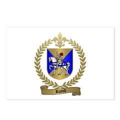 RICORD family Crest Postcards (Package of 8)