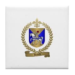 RICORD family Crest Tile Coaster