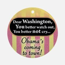 Dear Washington, You better watch out...