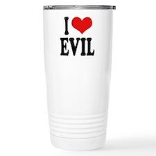 I Love Evil Travel Mug