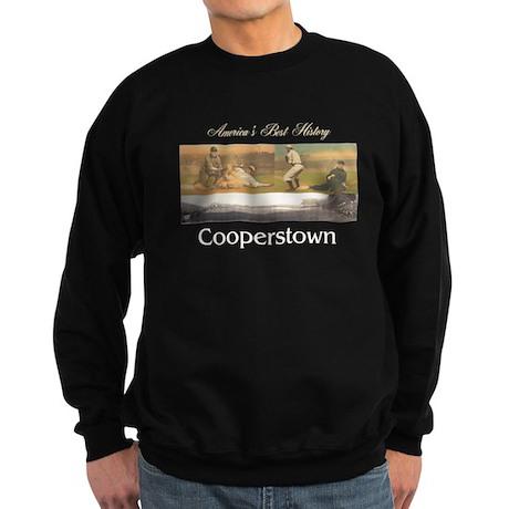 Cooperstown Americasbesthistory. Sweatshirt (dark)