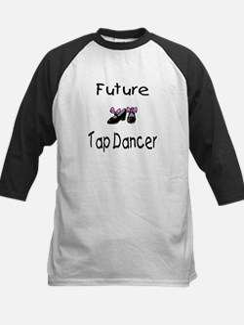Future Tap Dancer Kids Baseball Jersey