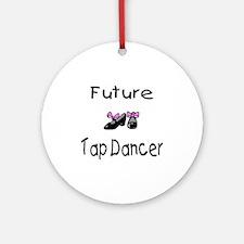 Future Tap Dancer Ornament (Round)