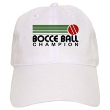 Bocce Ball Champion Baseball Cap