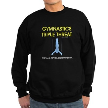 Gymnstics Triple Threat Sweatshirt