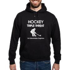 TOP Ice Hockey Slogan Hoodie