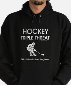 TOP Ice Hockey Slogan Hoodie (dark)