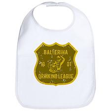Ballerina Drinking League Bib