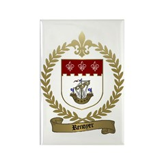 RENOYER Family Crest Rectangle Magnet (10 pack)