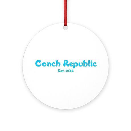 Conch Republic Ornament (Round)