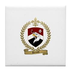 RENAUD Family Crest Tile Coaster