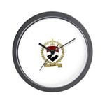 RENAUD Family Crest Wall Clock