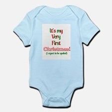 My very fist Christmas Spoil me Infant Bodysuit
