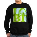 LGBT Tropo Pop Sweatshirt (dark)
