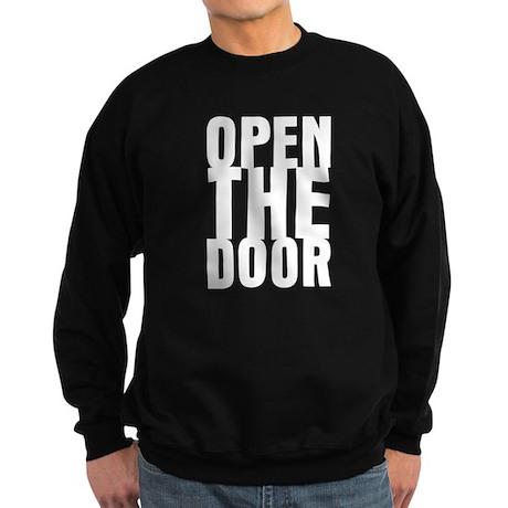 Open The Door Sweatshirt (dark)