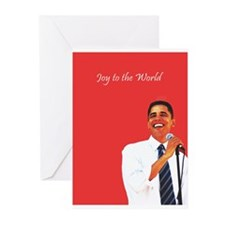 joyous Obama Christmas Cards (Pk of 10)