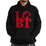 LGBT Red Pop Hoodie (dark)