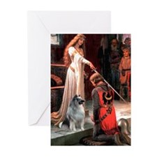 Accolade/Keeshond #2 Greeting Cards (Pk of 10)