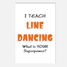 teach line dance Postcards (Package of 8)