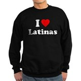 I love latinas Sweatshirt (dark)
