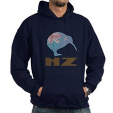 New Zealand Kiwi Flag Hoodie