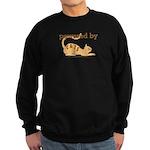Powered By Cats Sweatshirt (dark)